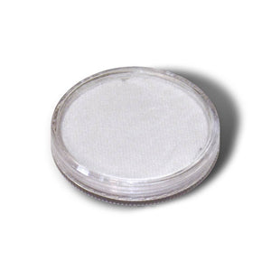 Wolfe FX White Face Paints - Metallix White M01 (30 gm)