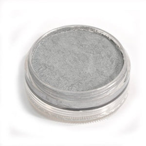 Wolfe FX Silver Face Paints - Metallix Silver 200 (45 gm)