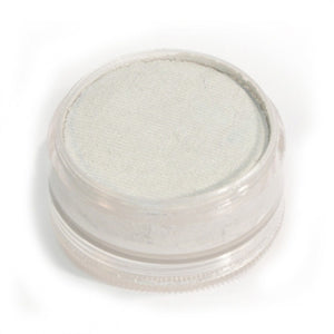 Wolfe FX White Face Paints - Metallic White M01 (90 gm)