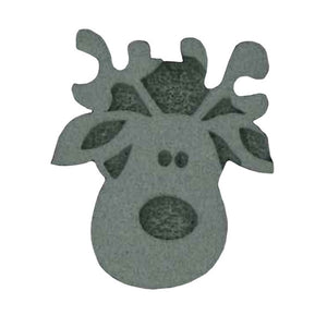 Ruby Red Face Painting Stamps - Reindeer
