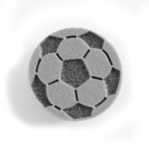 Ruby Red Face Painting Stamps - Soccer Ball