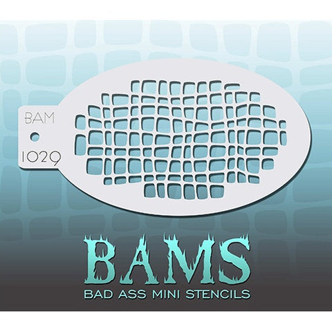Bad Ass Mini Stencils - Gator (BAM1029)