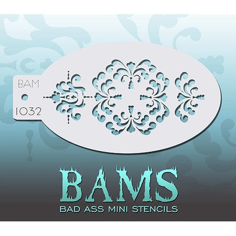 Bad Ass Mini Stencils - Carnival (BAM1032)