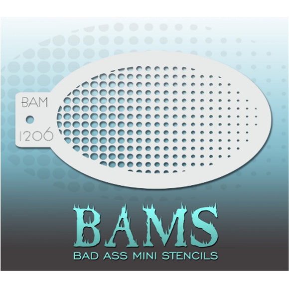 Bad Ass Mini Stencils - Gradient (BAM 1206)
