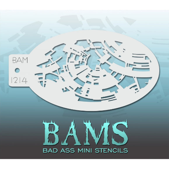 Bad Ass Mini Stencils (BAM 1214)