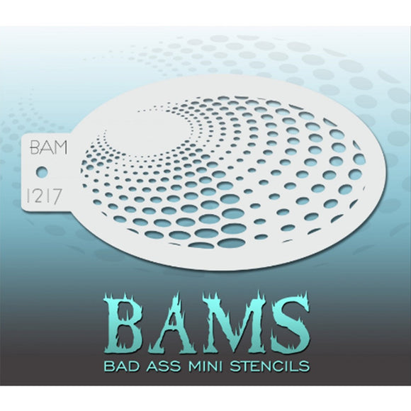 Bad Ass Mini Stencils (BAM 1217)