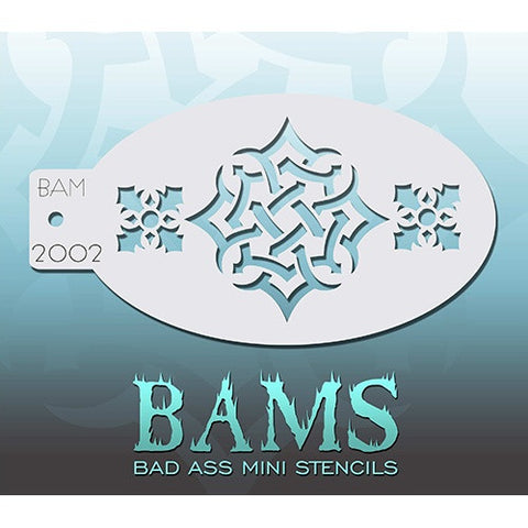 Bad Ass Mini Stencils - Celtic Knot (BAM2002)