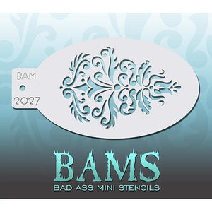 Bad Ass Mini Stencils - Elegance (BAM2027)