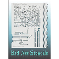 Bad Ass Full Size Stencils - Motherboard (BAD6044)
