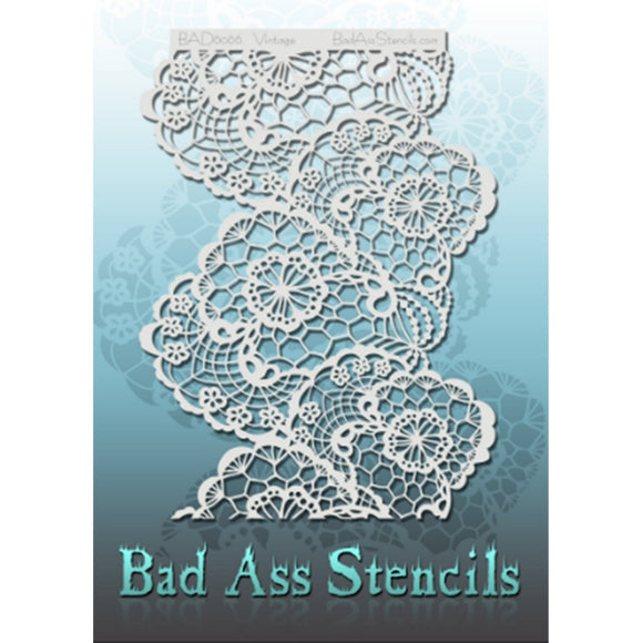 Bad Ass Full Size Stencils - Vintage (BAD6066)