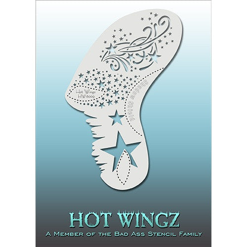 Bad Ass Hot Wingz Stencils - Starlight (HOTWING8009)