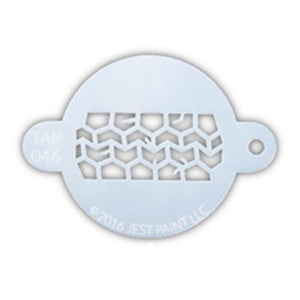 TAP Face Paint Stencil - Tire Track (046)