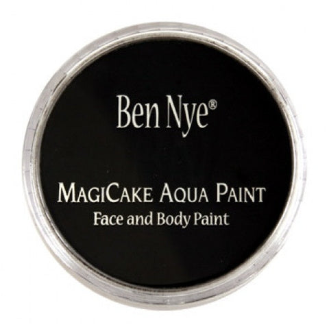 Ben Nye MagiCake Face Paints - Licorice Black LA-3 (0.77 oz/22 gm)
