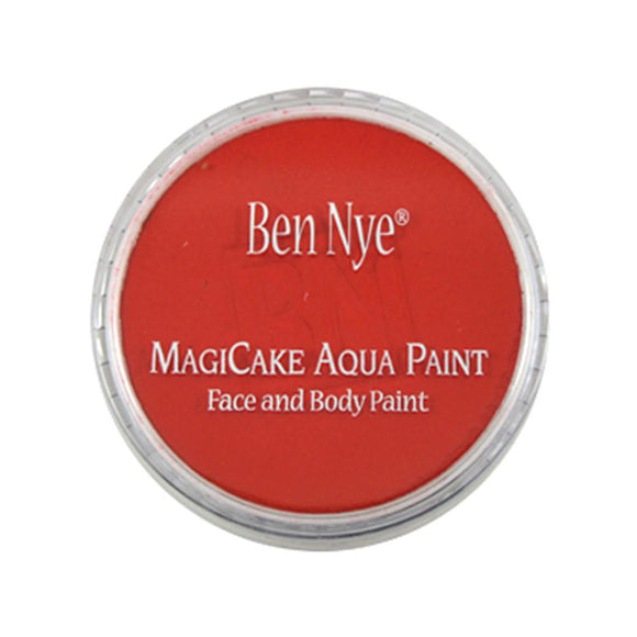 Ben Nye MagiCake Face Paints - Fire Red LA-4 (0.77 oz/22 gm)