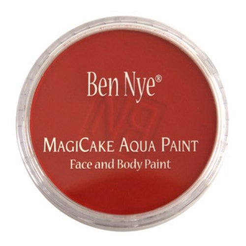 Ben Nye MagiCake Face Paints - Bright Red LA-5 (0.77 oz/22 gm)