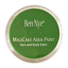 Ben Nye MagiCake Face Paints - Tropical Green LA-12 (0.77 oz/22 gm)