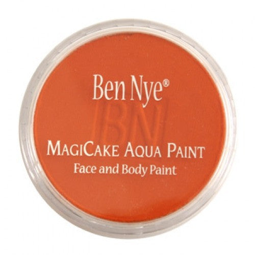 Ben Nye MagiCake Face Paints - Bright Orange LA-17 (0.77 oz/22 gm)