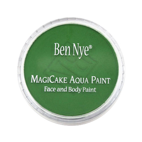Ben Nye MagiCake Face Paints - Kelly Green LA-112 (0.77 oz/22 gm)