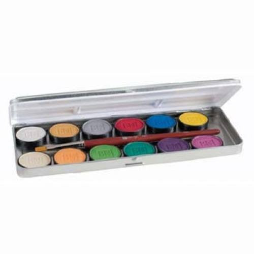 Ben Nye Lumiere Face Paint Palettes LUK-12 (12 Colors)