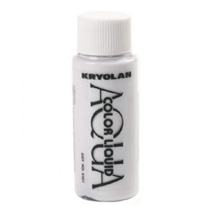 Kryolan Aquacolor Liquid - White (1 oz)