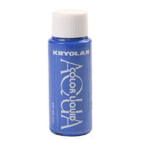 Kryolan Aquacolor Liquid - Blue (1 oz)