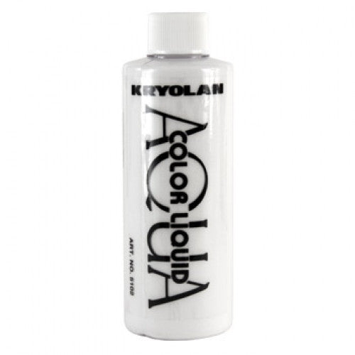 Kryolan Aquacolor Liquid - White (4 oz)