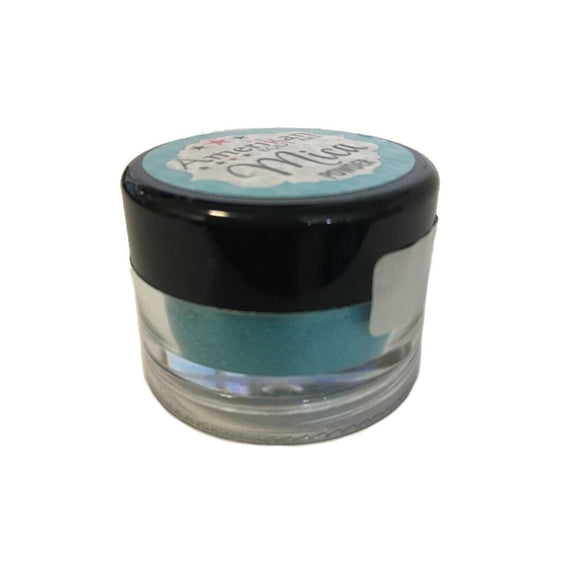 Amerkican Body Art Mica Powder - Coral Reef Blue (10 ml)