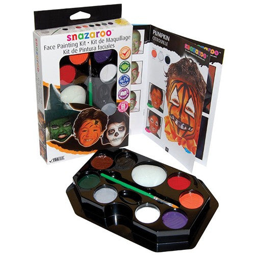 Snazaroo Face Paint Palette - Halloween (8 Colors)