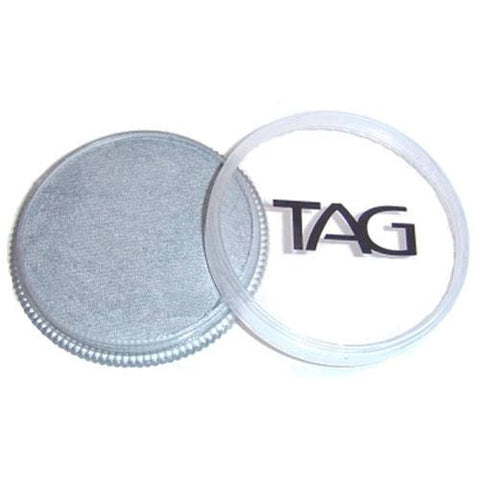 TAG Face Paints - Pearl Silver (32 gm)