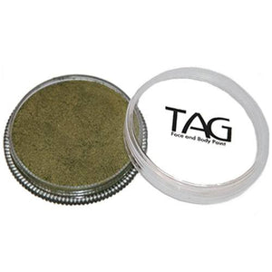 TAG Face Paints - Pearl Bronze Green (32 gm)