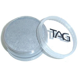 TAG Face Paints - Pearl Silver (90 gm)