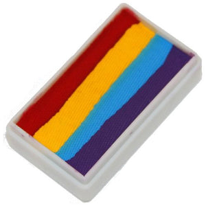 TAG 1-Stroke Split Cakes - 4 Color Rainbow (30 gm)
