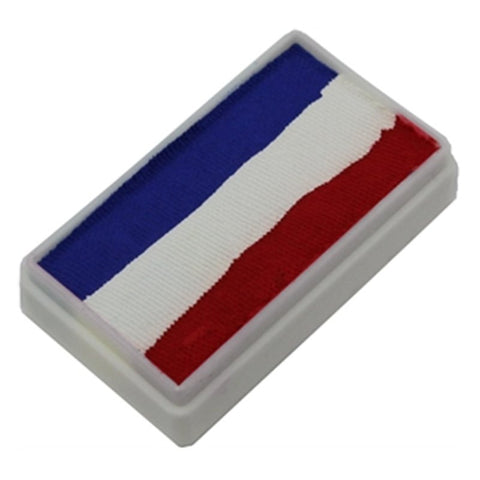 TAG 1-Stroke Split Cakes - 3 Color Red/White/Blue (30 gm)
