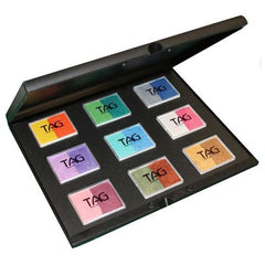 TAG Face Paint 9x50g Pearl Color Split Cake Palette