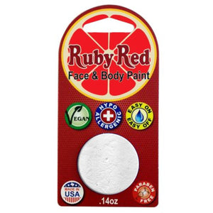 Ruby Red Face Paints - White 100 (2 ml)