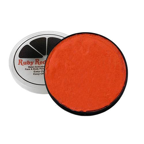 Ruby Red Face Paints - Orange 650 (18 mL)