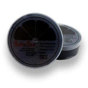 Ruby Red Face Paints - Black 150 (75 mL)