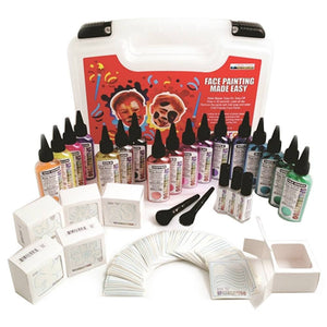 Ruby Red Glitter Tattoo - Kit C (622 Pieces)