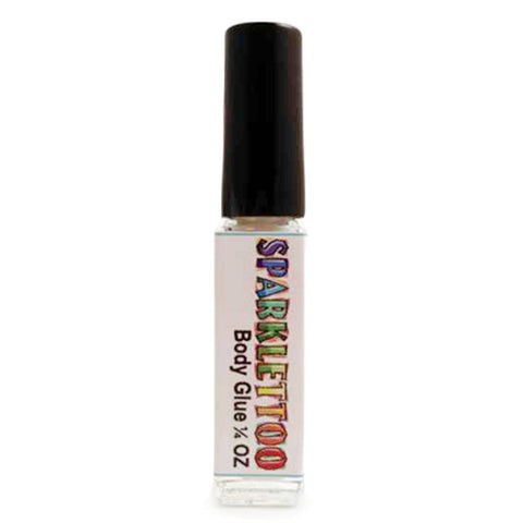 Ruby Red Glitter Tattoo Glue (0.25 oz/7.5 ml)