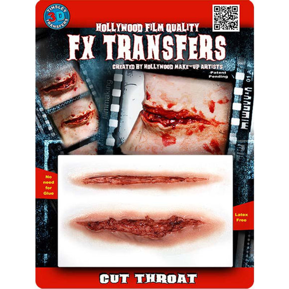 Tinsley Transfers Cut Throat 3D FX