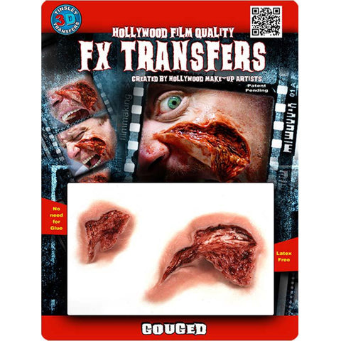 Tinsley Transfers Gouged 3D FX