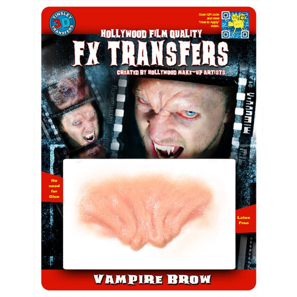 Tinsley Transfers Vampire Brow 3D FX