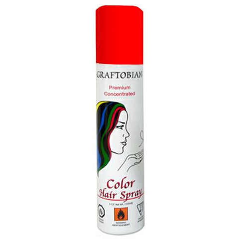 Graftobian Colorspray Hair Spray - Red (5 oz)
