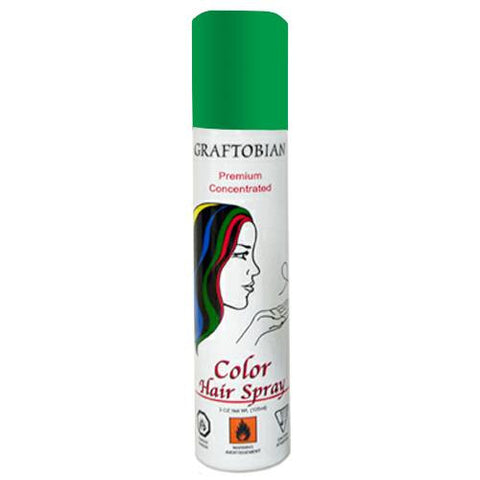 Graftobian Colorspray Hair Spray - Green (5 oz)