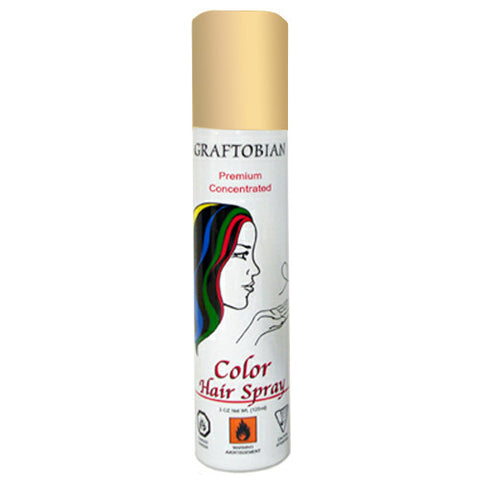 Graftobian Colorspray Hair Spray - Gold (5 oz)