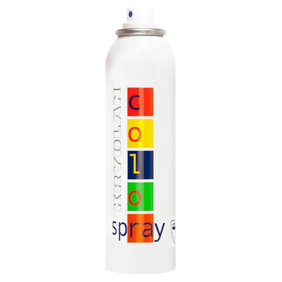 Kryolan Hair Color Spray - White (5 oz/150 ml)