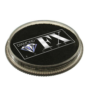 Diamond Face Paints - Metallic Black M10 (32 gm)