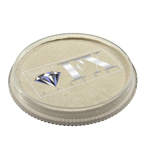 Diamond Face Paints - Metallic White M01 (32 gm)