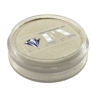 Diamond Face Paints - Metallic White M01 (45 gm)