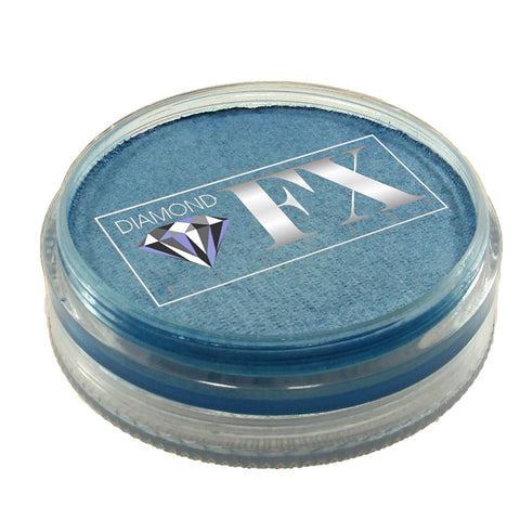 Diamond Face Paints - Metallic Baby Blue M190 (45 gm)